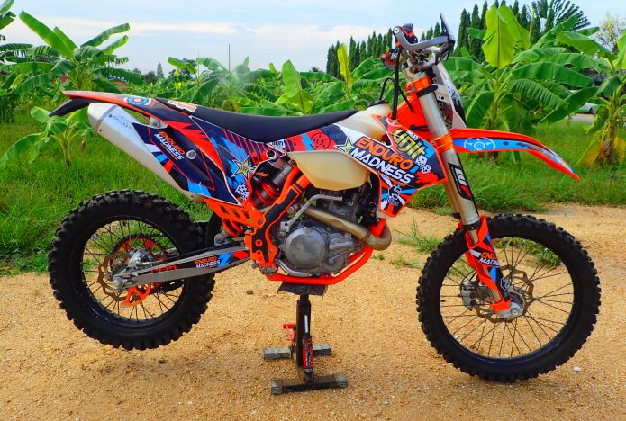KTM and Husqvarna Enduro Tours in Pattaya Thailand