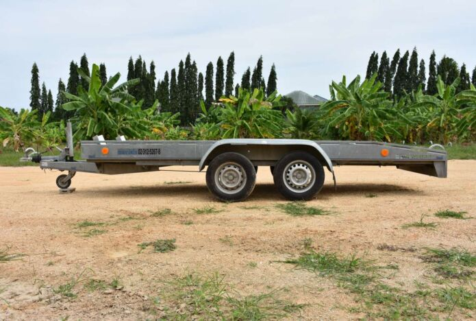 Bike and Sports Car Trailers for Rent in Pattaya Thailand